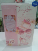 TO A WONDERFUL DAUGTHER WITH KEEPSAKE