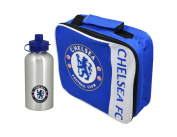 Chelsea Football Club - Wordmark Lunch Bag & Aluminium Bottle