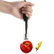 Stainless Steel Handled Easy Twist Fruit Apple Corer Kitchen Tool