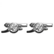 Arsenal FC Official Football Gift Chrome Executive Cufflinks