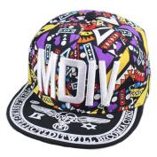 Canvas Baseball Hat MDIV Fashionable Hip-Pop Hat Summer Sun Cap Yellow