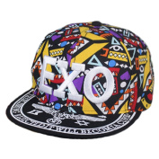 Canvas Baseball Hat EXO Fashionable Hip-Pop Hat Summer Sun Cap Yellow