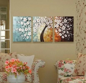*White Cherry Blossom* - Oil Paiinting