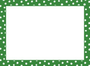 """Christmas Gift Tags Holiday Gift Tags Peel N Stick Adhesive Gift Labels Green with Dots 12 Pc. 6.4cm x 3"""""""