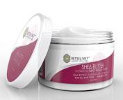 Retseliney Best Organic Shea Sugar Scrub for Hand & Body, Anti Ageing Moisturiser for Skin, Hydration Exfoliant Cream, Natural Exfoliator with Vitamin E, Coconut Oil & Shea Butter