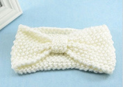 ACELIST Crochet Flower Bow Knitted Headwrap Headband Ear Warmer Hair Muffs Band Winter