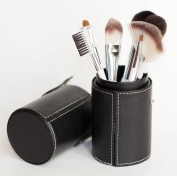 Premium Quality Professional Makeup Brush Set by Aurora Collections, Shed Proof Customised Natural & Synthetic Brushes Ideal for Blending Liquid Foundation & Contour Techniques + Cosmetic Case Perfect for Travel, 7 Pc Kit - Make Up Like a Pro Today!