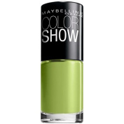 Maybelline New York Colour Show Nail Lacquer, 340 Go Go Green