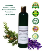 Cypress-Lavender Deep Reconstructive Conditioner Paraben Free 10.2oz / 300 ml by HAIR GROWTH Botanical Renovation