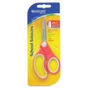 Kids Scissors, Soft Handle, Blunt, 13cm , STST Blades/Assorted, Sold as 1 Each