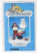 Poly-Fil Poly-Patterns Samantha Doll and Clothing D-205 Sewing Pattern