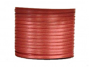 "1/16"" (1.5 mm)Double Face Satin Ribbon 100 Yard Roll Dusty Rose"