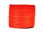 "1/16"" (1.5 mm)Double Face Satin Ribbon 100 Yard Roll Neon Orange"
