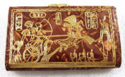 Ramsis Egyptian Hand Made100% Genuine Wallet Purse Leather Handcrafted Pharaoh