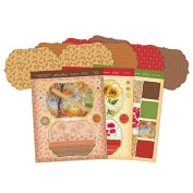 Hunkydory Autumn Delights - Pinwheel Spinners Premium Card Kit