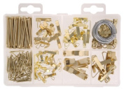 The Hillman Group 591525 Medium Picture Hanger Assortment, 200-Pack PackageQuantity