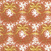 Caspari Pepper Berry Wreath Continuous Gift Wrapping Paper Roll, 2.4m