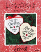 Lizzie Kate Counted Cross Stitch Snippet S61 1st Christmas