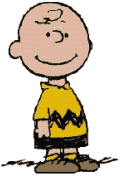 Peanuts Charlie Brown Counted Cross Stitch Pattern