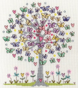Bothy Threads Love Spring Cross Stitch Kit