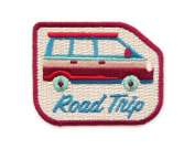 Road Trip Embroidered Sew or Iron-on Backing Patch