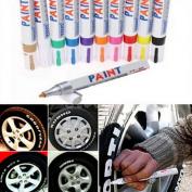 CHENGYIDA 13 Colour Universal Waterproof Permanent Paint Marker Pen Car Tyre Tyre Tread Rubber Metal
