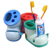 Multifunctional Boots Toothbrush Holder with Toothpaste Squeezer