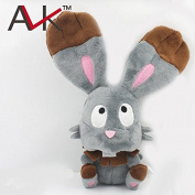 13cm 1pcs/set Pokemon Rabbit Bunnelby Soft Plush Eevee Plush Toy Stuffed Figure Soft Stuffed Animal Plush Doll Toy