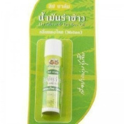 Lip Balm with Rice Bran Oil (Melon) New Abhabibhubejhr