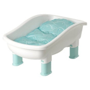 Baby's Journey Comfort Plus Perfect Height Tub, Whale Dot