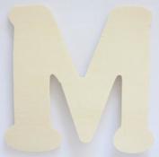 Craft Wooden Wood Letter Alphabet M Wedding Party Home Decor DIY