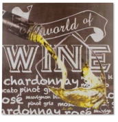 Carson Home Accents 21194 The World Of Wine Wall Decor