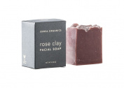 Osmia Organics Clay Facial Soap, Rose