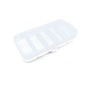 2 PCS Clear Beads Makeup Box 04216 Nail Art Small Parts Plastic Transparent Case Storage Organiser Containers Tackle Box