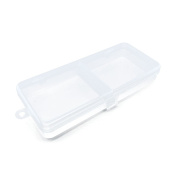 1 PCS Clear Beads Makeup Box 07481 Nail Art Small Parts Plastic Transparent Case Storage Organiser Containers Tackle Box
