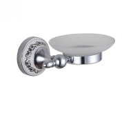 Cloud Power Wall-mounted Soap Dish Holders For Bathroom Soap Dish Brass Soap Dish Porcelain Decorated With Chrome