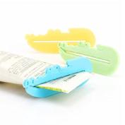 LKTShop 3 PCS Colourful Toothpaste Tube Squeezer Press Dispenser Bathroom