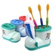 LKTShop Cute Multifunctional Boots Toothbrush Holder Toothpaste Squeezer