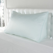 Luxury Tencel Lyocell Light Baby Blue Reading Wedge Cover - 300 TC Silky Soft Tencel Pillow Cover