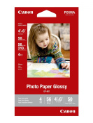 Canon 10cm x 15cm Photo Paper Glossy, 50 Sheets