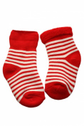 Baby plush socks inside-edge.: Size