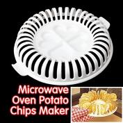 DIY Calories Microwave Oven Fat Free Potato Chips Maker NG4S