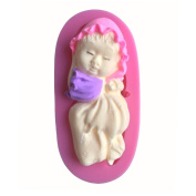 Karen Baking New Small Baby Shape 3D Silicone Cake Mould For Cake Fondant Decorating