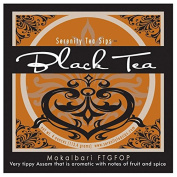 Serenity Tea Sips Mokalbari FTGFOP - 120ml Aromatic Fruity and Spicy Tippy Assam