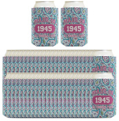 70th Birthday Gift Coolie Made 1945 Can Coolies 96 Pack Can Coolie Drink Coolers Coolies Paisley
