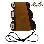 Muddy Buck Gear 3 Tab Adjustable Leather Arm Guard