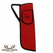 Muddy Buck Gear Codura Side Quiver w/ Belt Clip Red