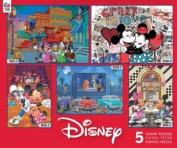 Ceaco Classic Disney 5-in-1 Multipack Jigsaw Puzzle Set