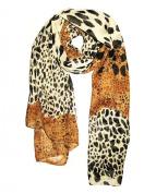 1 X Cool88 2014 New Fashion Women Fashion Leopard Pattern Animal Print Shawl Scarf Wrap