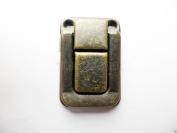 10x Antique Bronze Colour Drawbolt Closure Latch for Guitar Case /musical cases clouseut